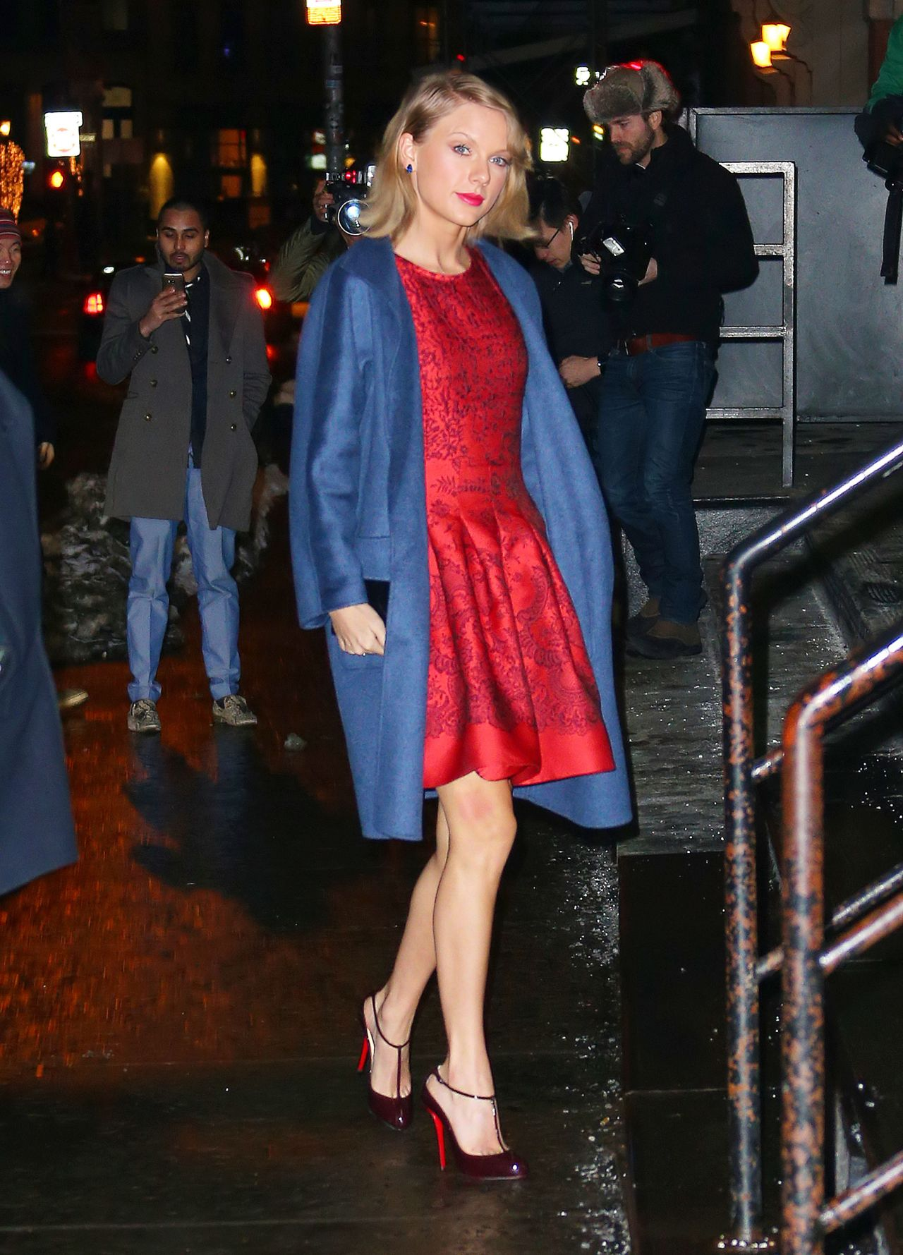 Taylor Swift Night Out Style Out In New York City February 2015