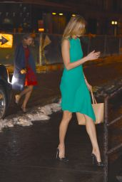Taylor Swift Night Out Style - Out in New York City, February 2015