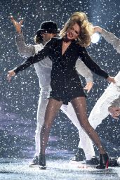Taylor Swift Performs at 2015 BRIT Awards in London
