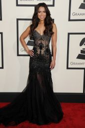 Tracey Edmonds – 2015 Grammy Awards in Los Angeles