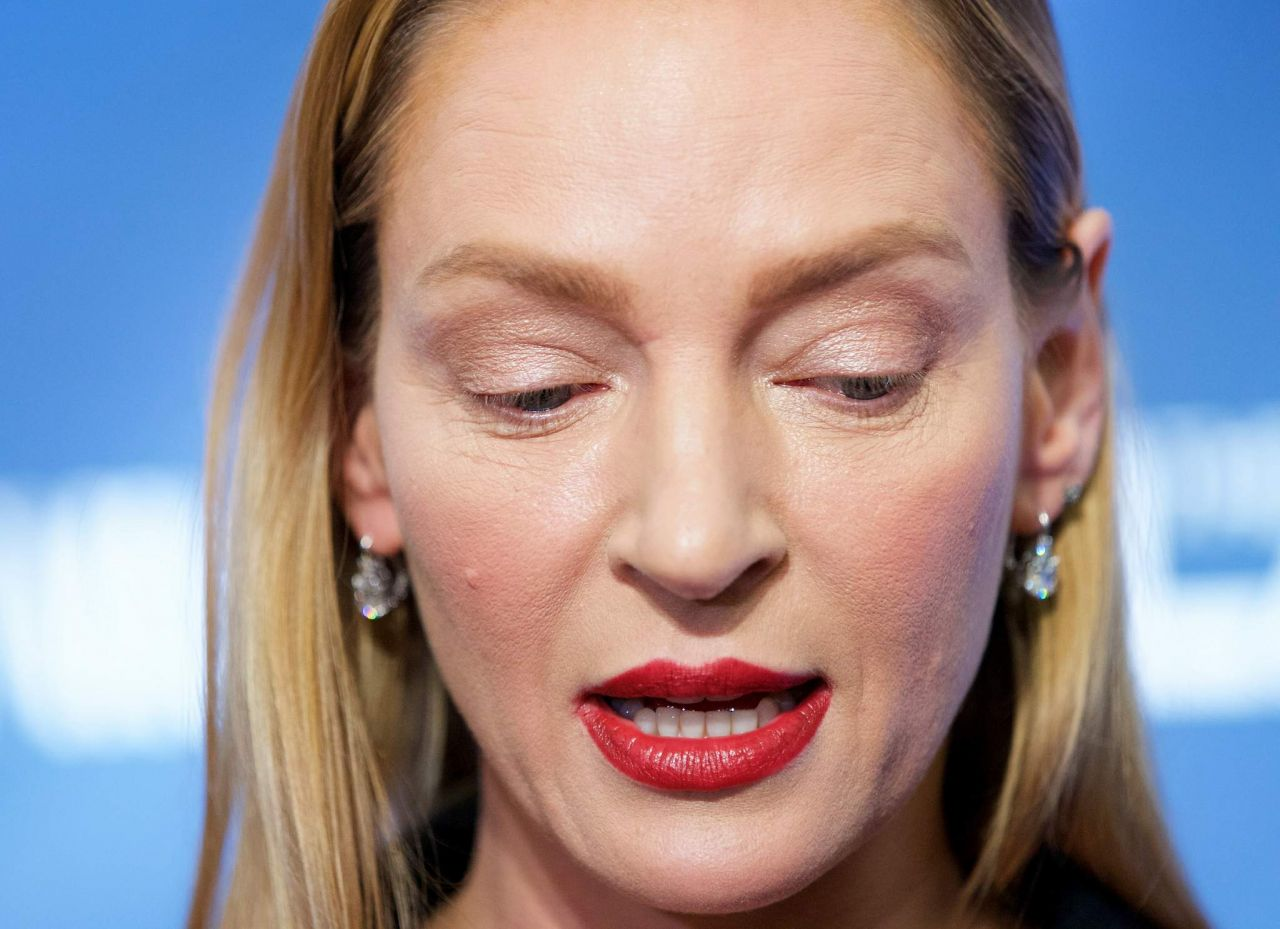 Uma Thurman The Slap Premiere Party In New York City