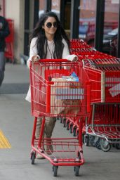 Vanessa Hudgens at Shops Trader Joe