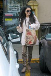 Vanessa Hudgens at Shops Trader Joe