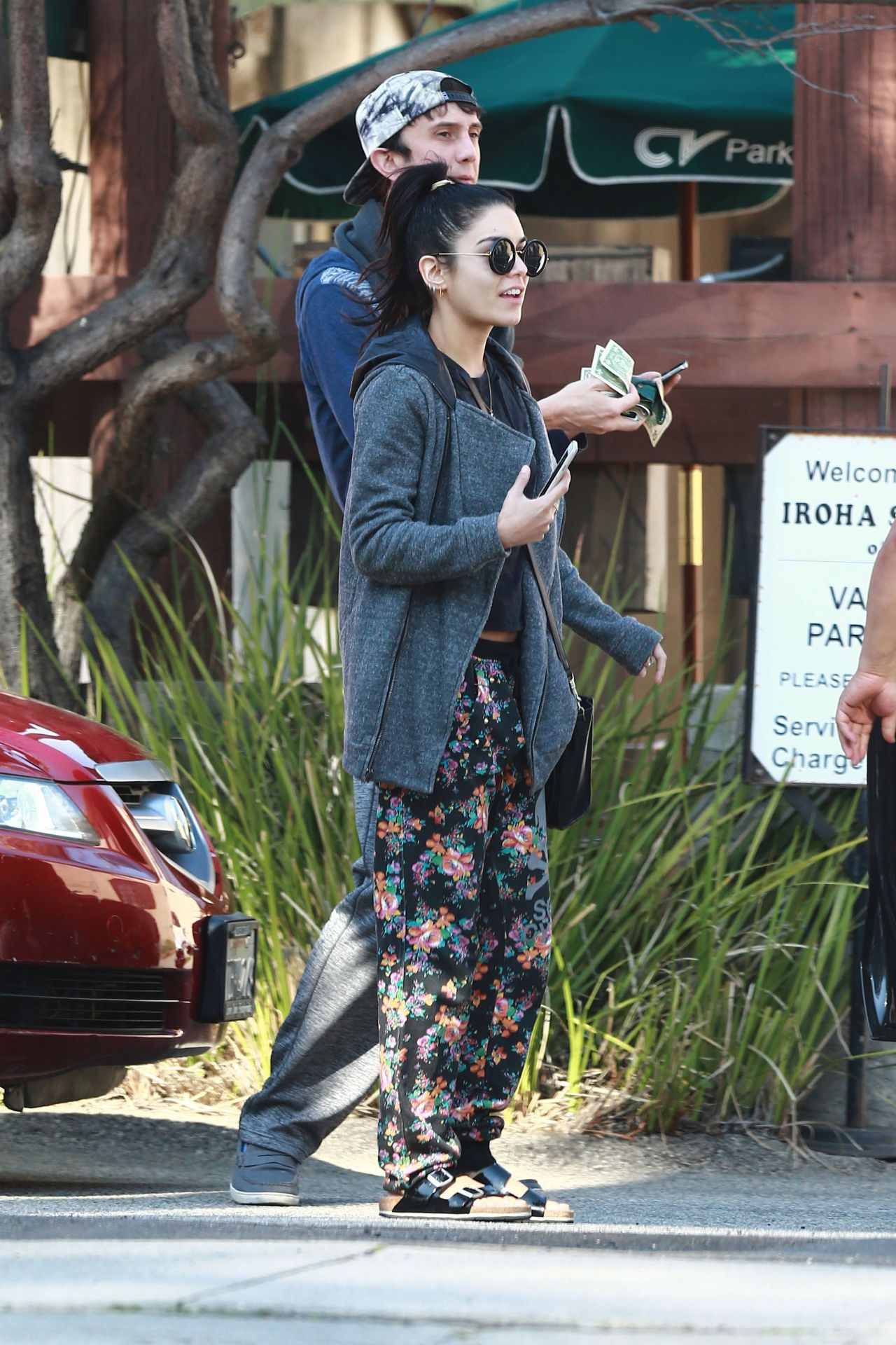 Vanessa Hudgens - Out in Studio City, February 2015