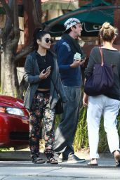 Vanessa Hudgens - Out in Studio City, February 2015