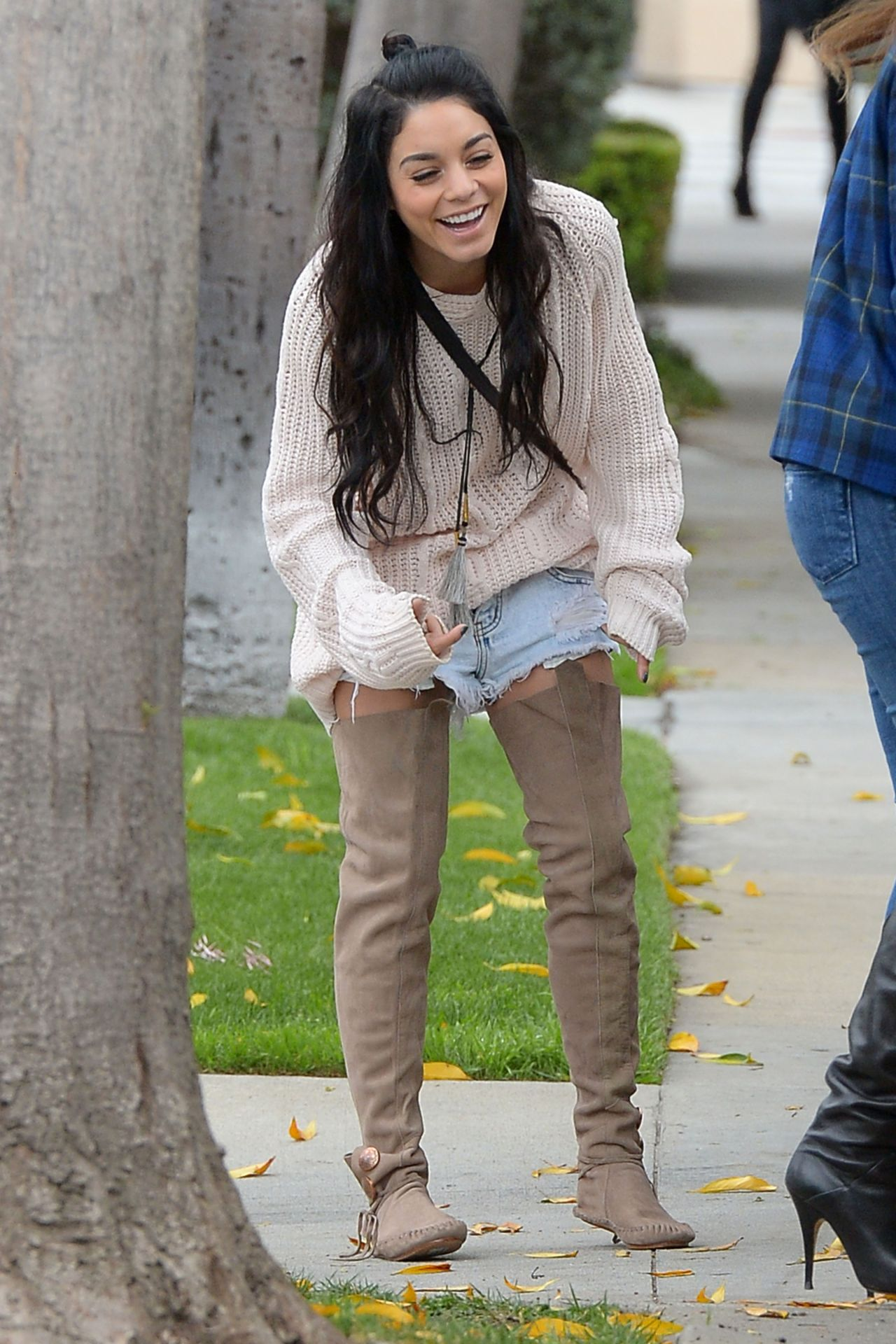 Vanessa Hudgens Street Style Out In West Hollywood February 2015