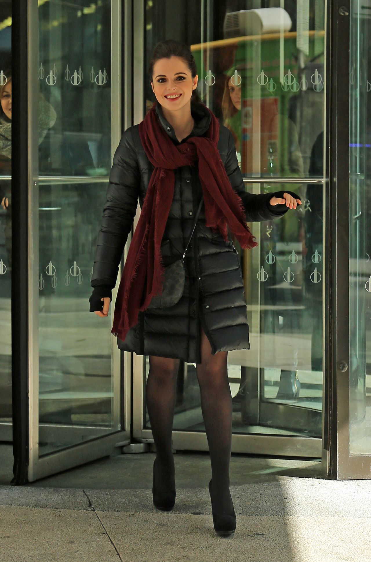 Vanessa Marano Casual Style - Out in NYC, February 2015