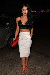 Vicky Pattison Style - at LuXe Club in Essex, February 2015