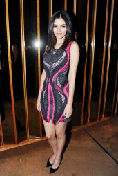 Victoria Justice - BCBGMAXAZRIA & The Daily Front Row Celebrate NY Fashion Week, Feb. 2015