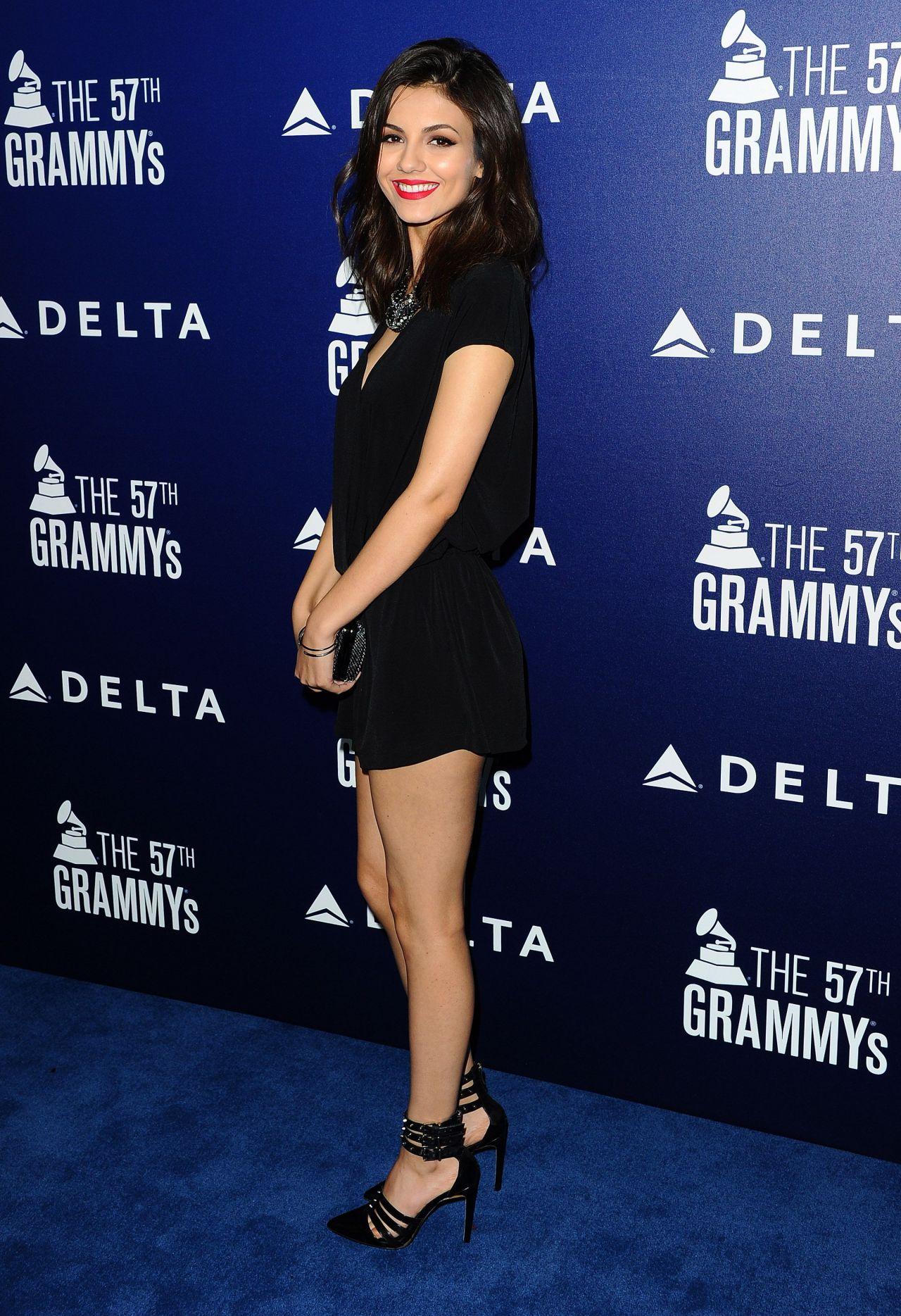 Victoria Justice Delta Air Lines Grammy 2015 Kick Off