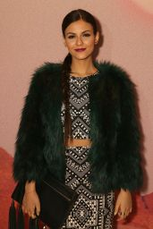 Victoria Justice - Mara Hoffman Fashion Show in New York City, February 2015