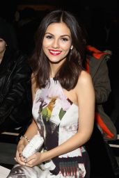 Victoria Justice - Rebecca Minkoff Fashion Show in New York City, Feb. 2015