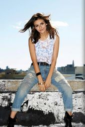 Victoria Justice - Seventeen Magazine February 2015 Issue