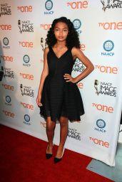 Yara Shahidi – 2015 NAACP Image Awards in Pasadena