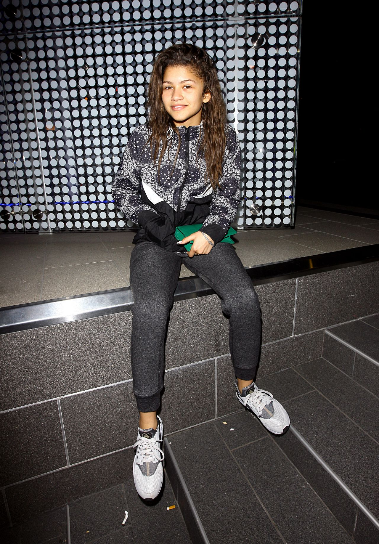 Zendaya Coleman Casual Style At Boa Steakhouse In Los