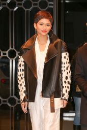 Zendaya Style - Out in New York City, February 2015