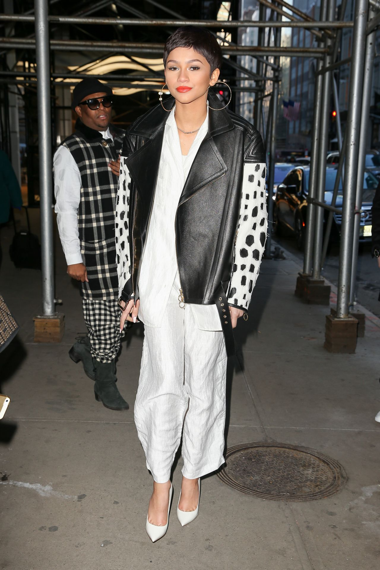 Zendaya Style 2015 Celebrity Photos Out In New York City February