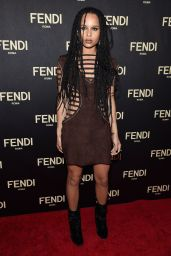 Zoe Kravitz - Fendi New York Flagship Boutique Inauguration Party in New York City