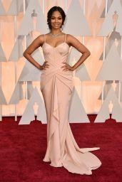 Zoe Saldana – 2015 Oscars Red Carpet in Hollywood