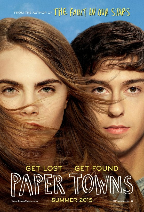 Cara Delevingne - 'Paper Towns' Poster