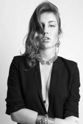 Adele Exarchopoulos Photoshoot for Ela Stone Jewelry (2015)