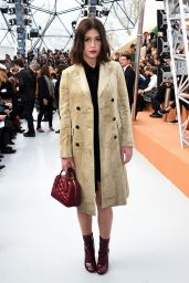 Adele Exarchopoulos Style - Louis Vuitton Fashion Show in Paris, March 2015