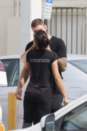Adriana Lima Kissing her New Boyfriend - Out in Miami, March 2015