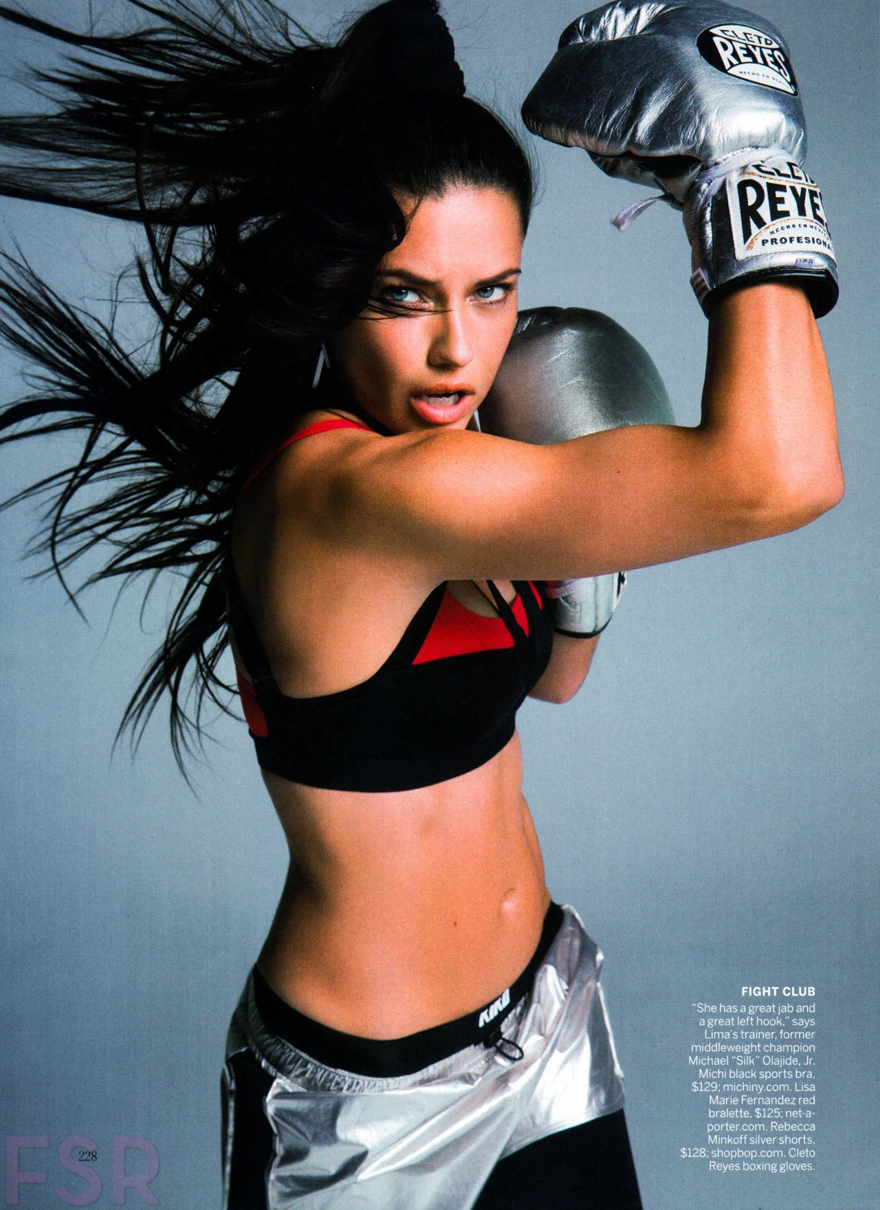 Adriana Lima - Vogue Magazine (US) April 2015 Issue