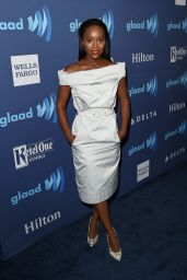 Aja Naomi King – 2015 GLAAD Media Awards in Beverly Hills