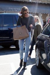 Alessandra Ambrosio at the Brentwood Country Mart in Los Angeles, March 2015