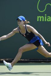 Alize Cornet – 2015 Miami Open Tennis Tournament in Key Biscayne – 1st Round