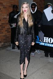 Amanda Seyfried - Arriving to Appear on The Daily Show with Jon Stewart in NYC, March 2015