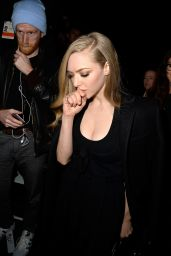 Amanda Seyfried - Givenchy Fashion Show in Paris, March 2015
