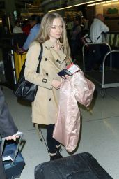 Amanda Seyfried - JFK Airport in New York City, March 2015