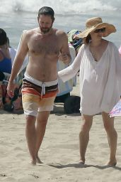 Amy Adams at the Beach in Los Angeles, March 2015