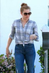 Amy Adams in Jeans - Out in Beverly Hills, March 2015