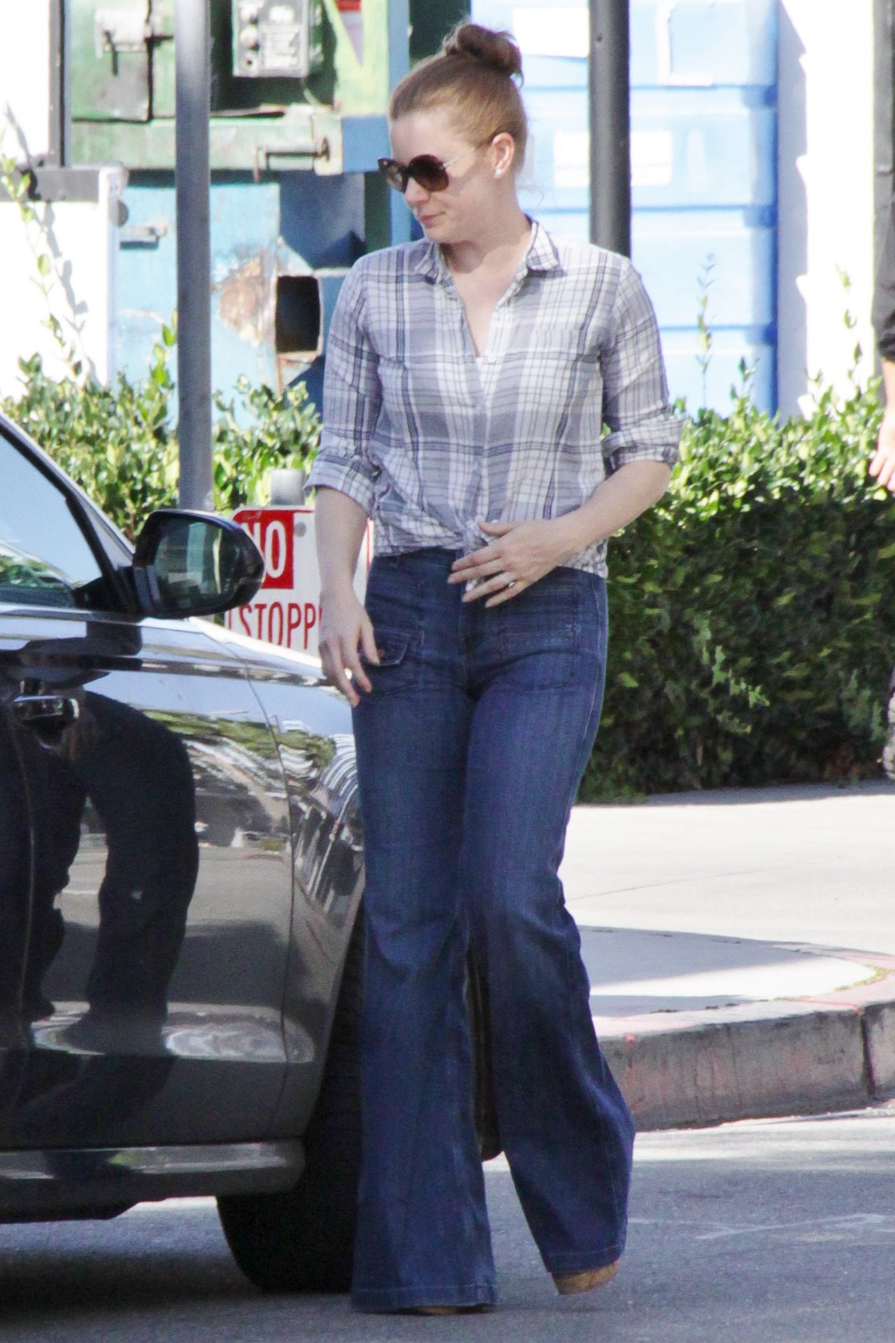 Amy Adams In Jeans Out In Beverly Hills March 2015