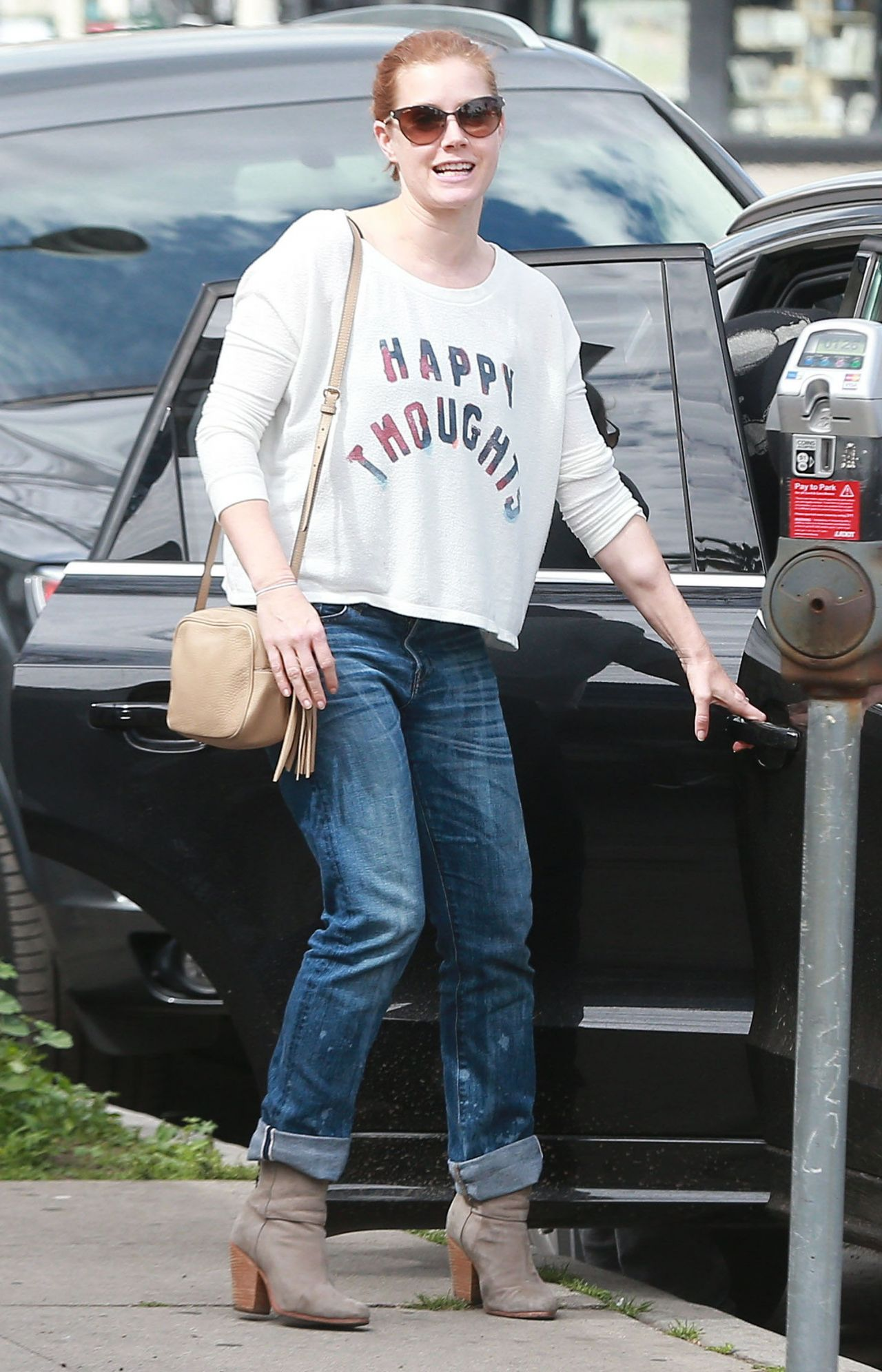 Amy Adams - Out in Studio City, Febraury 2015