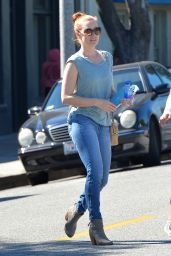 Amy Adams Street Style - Out in Beverly Hills, March 2015