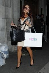 Amy Childs Style - at the Sun Bizarre Party in London, March 2015