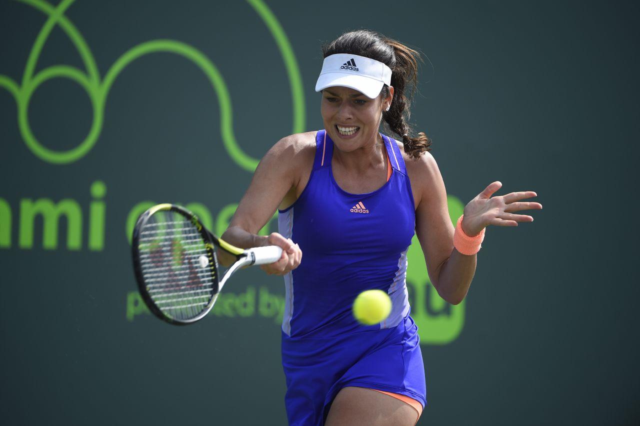 Ana Ivanovic 2015 Miami Open Tennis Tournament In Key
