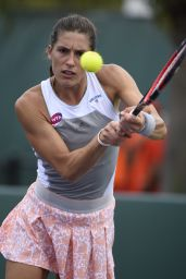 Andrea Petkovic – 2015 Miami Open Tennis Tournament in Key Biscayne – 2nd Round