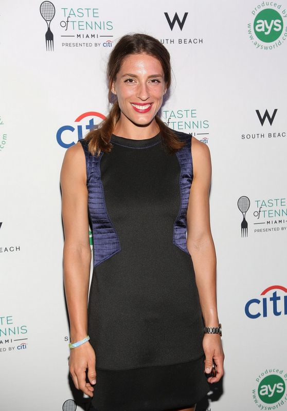 Andrea Petkovic - The Taste of Tennis in Miami - March 2015