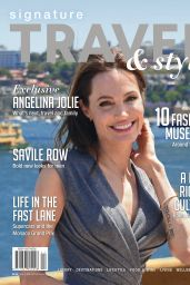 Angelina Jolie - Signature Travel & Style Magazine 2015