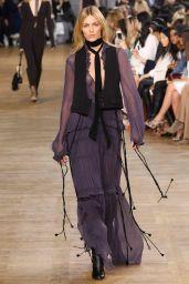 Anja Rubik - Runway/Backstage the Chloe Show - Paris Fashion Week March 2015