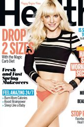 Anna Faris - Health Magazine April 2015 Issue
