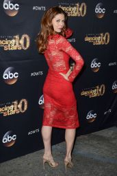 Anna Trebunskaya - Dancing With The Stars Cast Party at Hyde Lounge