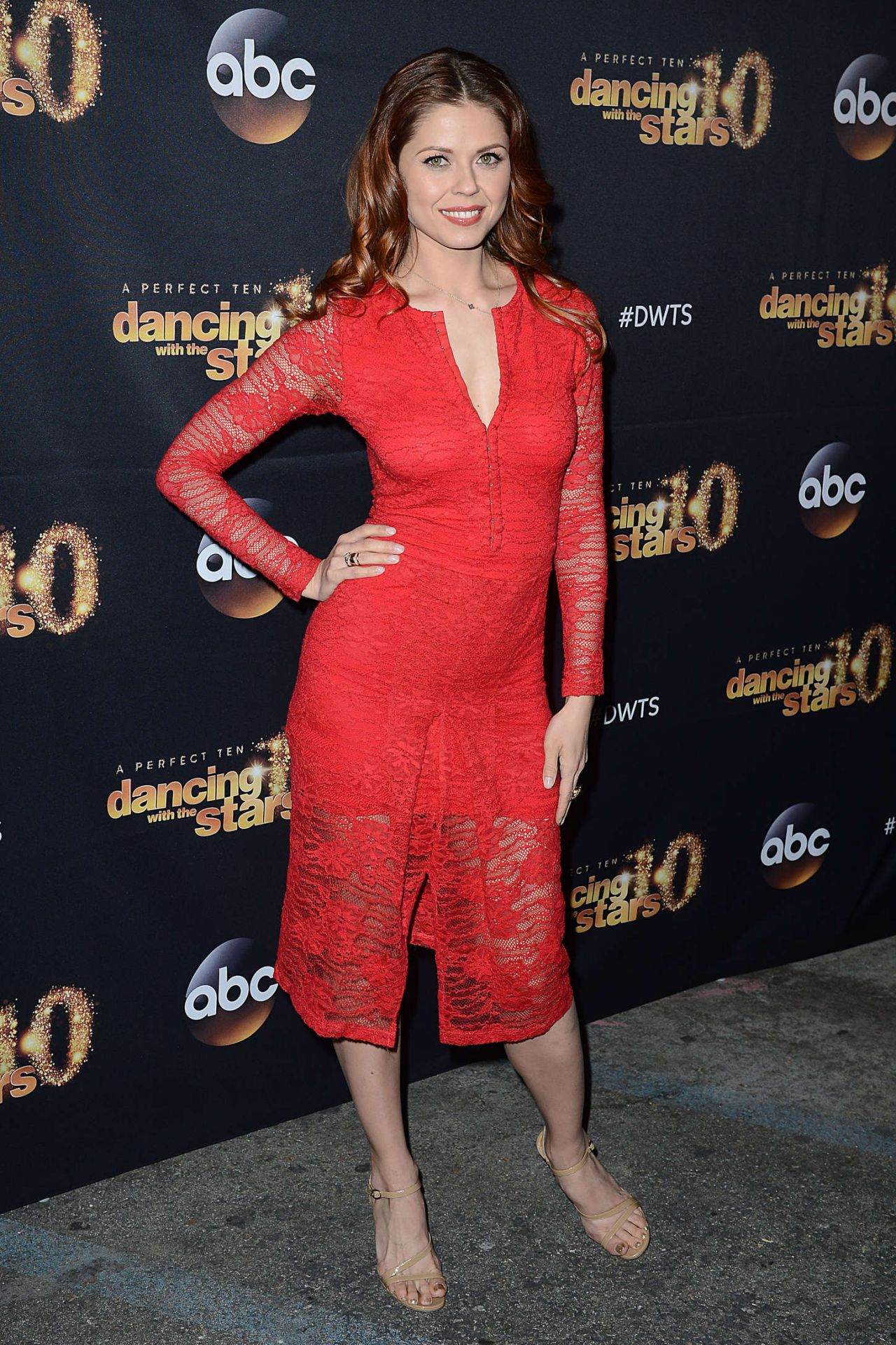 Anna Trebunskaya – Dancing With The Stars Cast Party at Hyde Lounge
