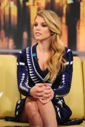 AnnaLynne McCord - Appeared on Good Day New York on Fox 5 in New York City, March 2015
