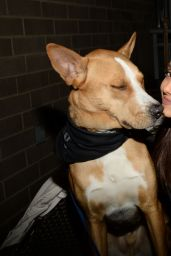 Ariana Grande - BADASS Brooklyn Animal Rescue Adoption Event in New York City